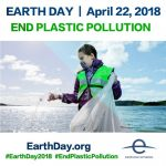 Earth Day 2018 – End Plastic Pollution Countdown to April 22